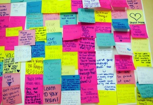 Brainstorm with Post-It Notes