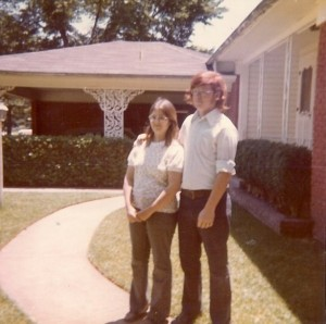 Mom and Dad in the 1970s